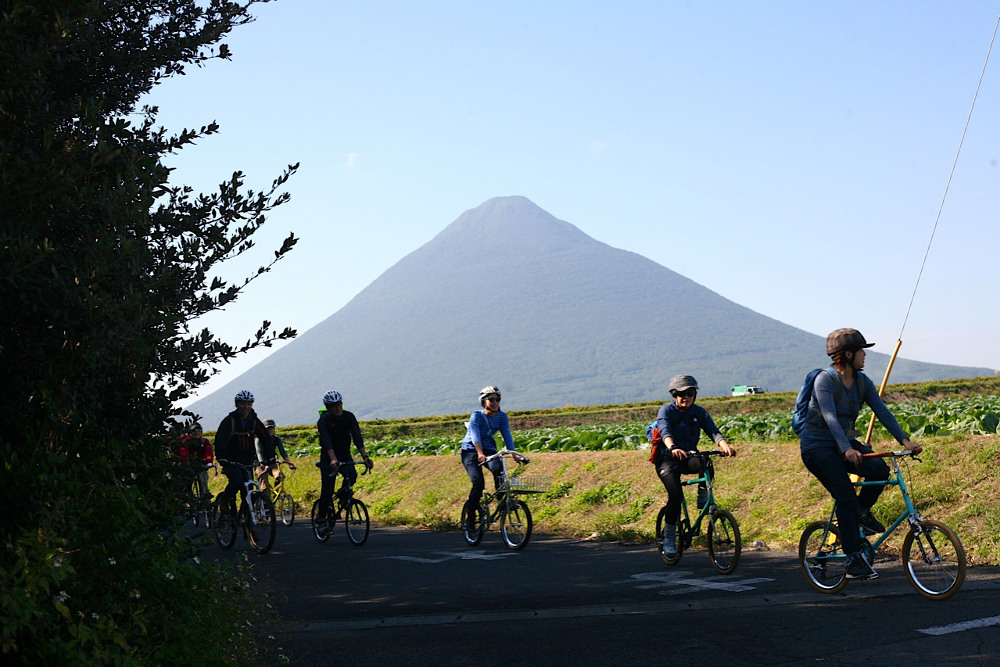 The tour passes through Kagoshima Prefecture in the southwestern tip of Kyushu island