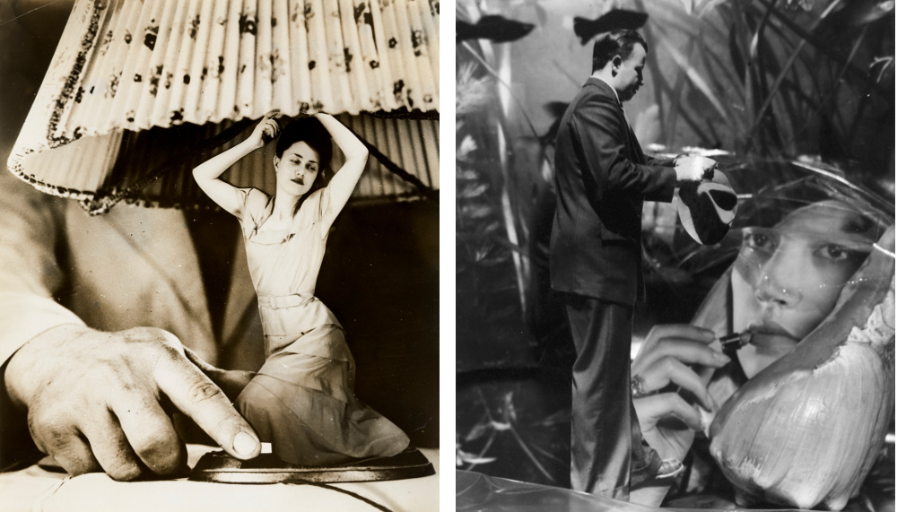 Left: Grete Stern, Dream No. 1: Electrical Appliances for the Home 1949 – right: Grete Stern, Dream No. 27: Does Not Fade with Water, 1951