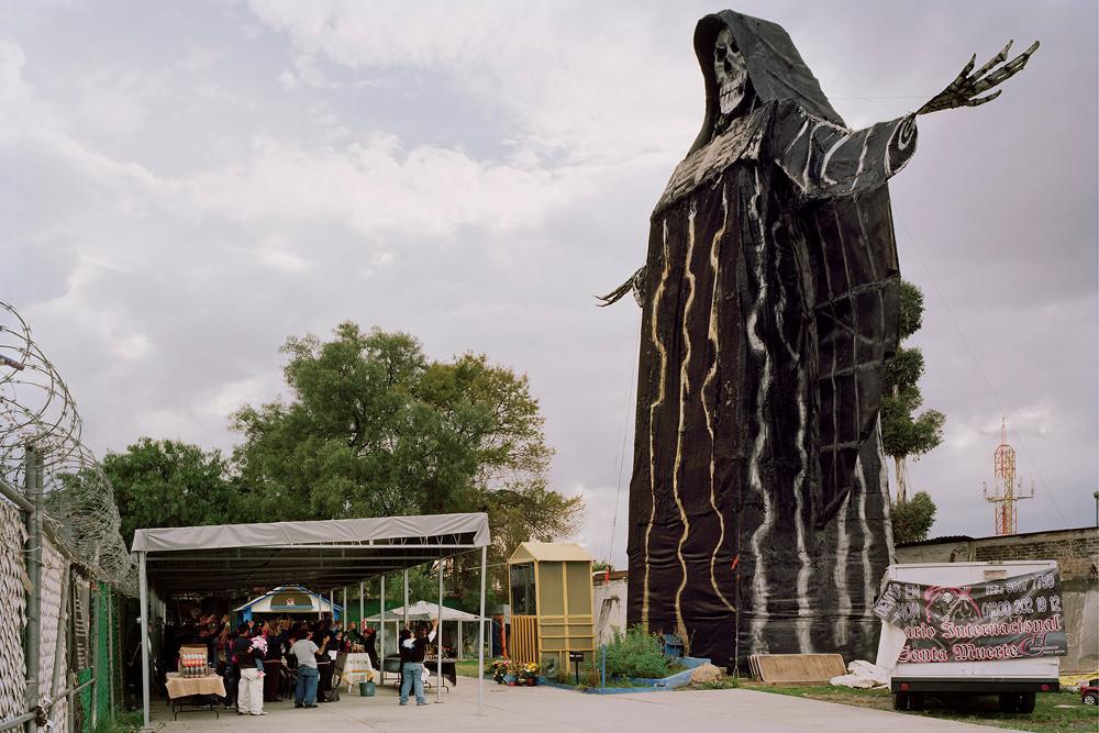 The International Temple of Santa Muerte, Estado de  Mexico, 2012