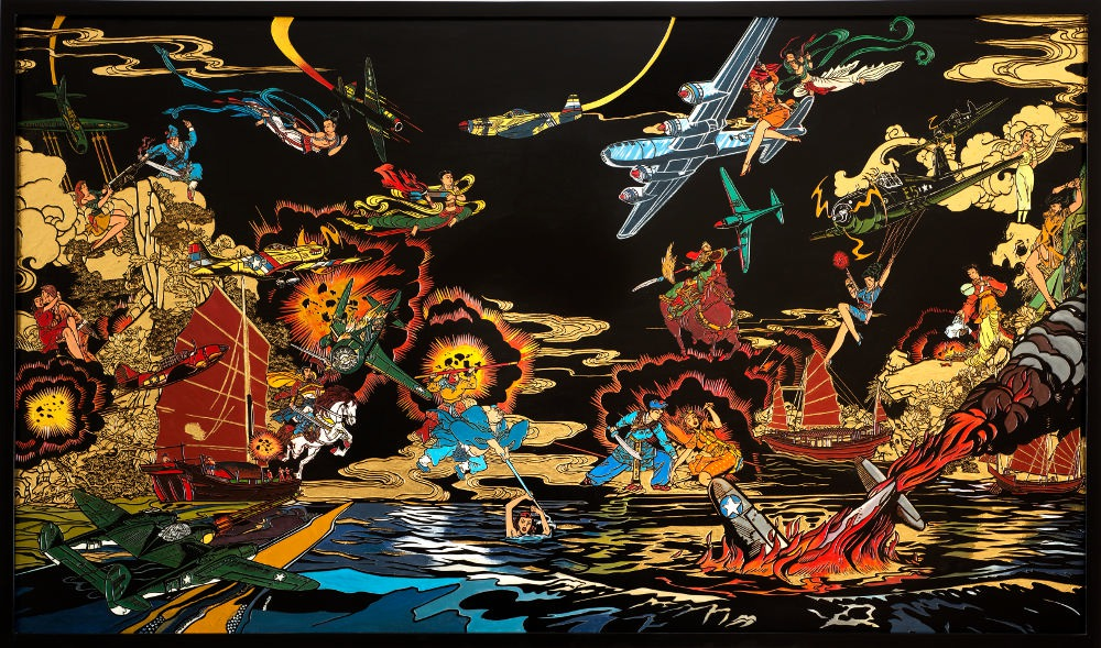 Culture Clash, Jacky Tsai. Image courtesy of the artist and The Fine Art Society