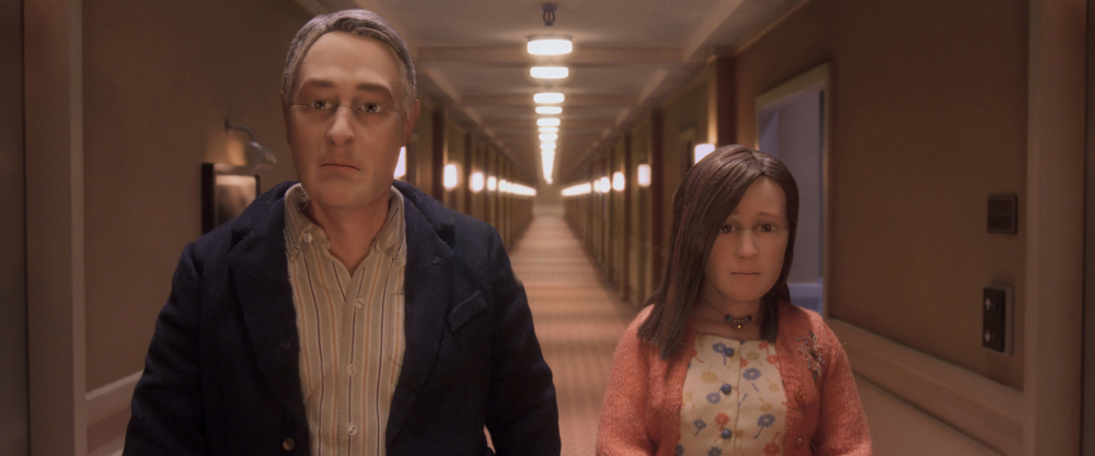 David Thewlis voices Michael Stone and Jennifer Jason Leigh voices Lisa in the animated stop motion film, ANOMALISA, by Paramount Pictures Photo Credit: Paramount Pictures © 2015 Paramount Pictures.  All Rights Reserved.