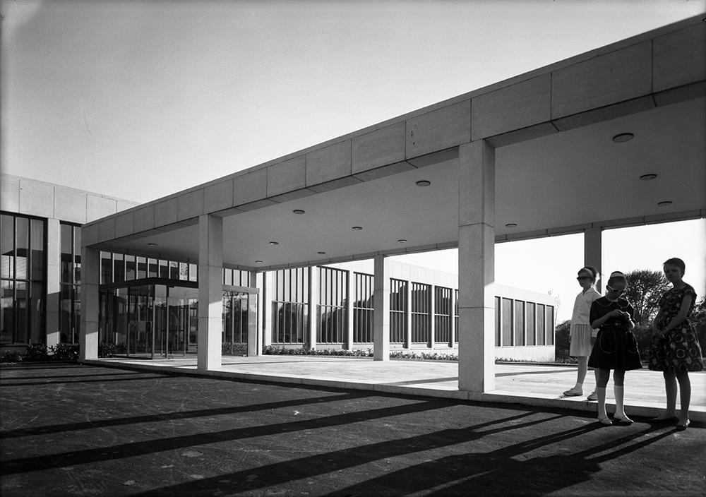 The Munch Museum in 1963. Courtesy Teigens Fotoatelier