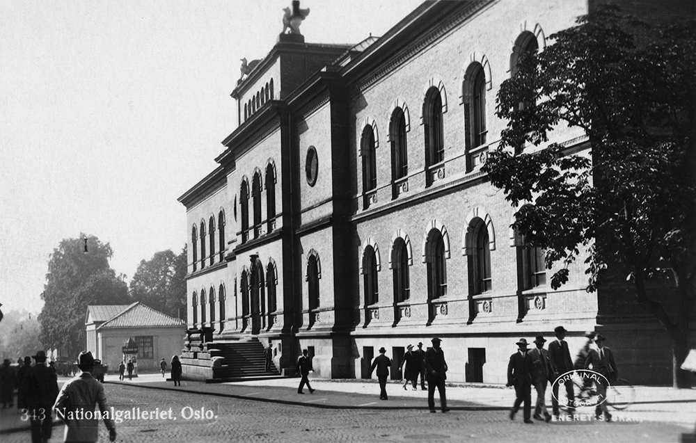 The National Gallery in Oslo, 1920
