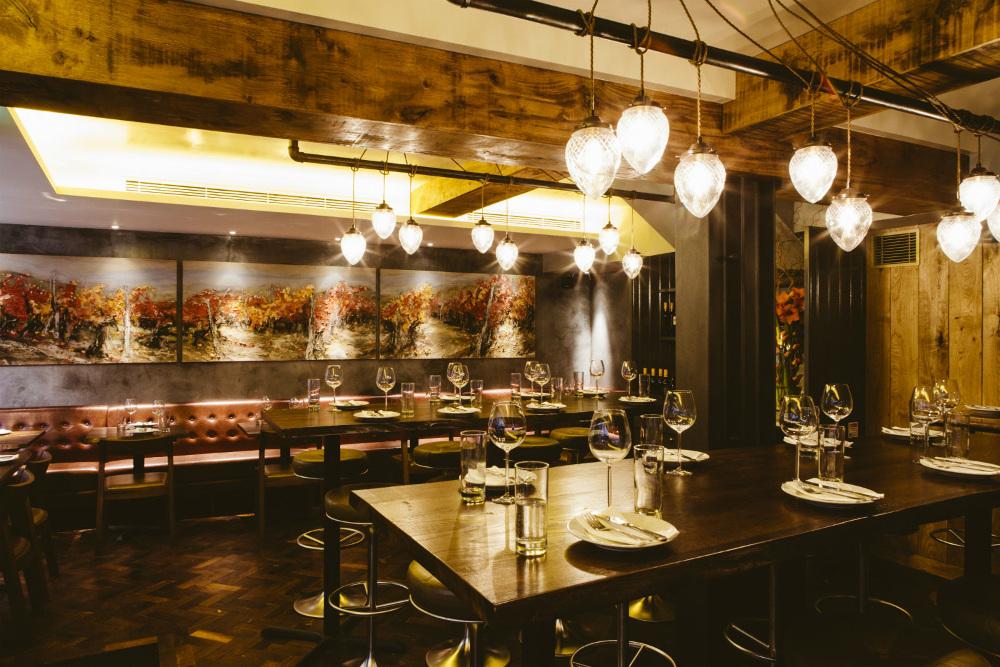 Ember Yard restaurant in Soho