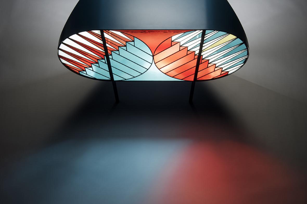 Credenza – a collaboration between designer Patricia Urquiola and artist Federico Pepe for Spazio Pontaccio