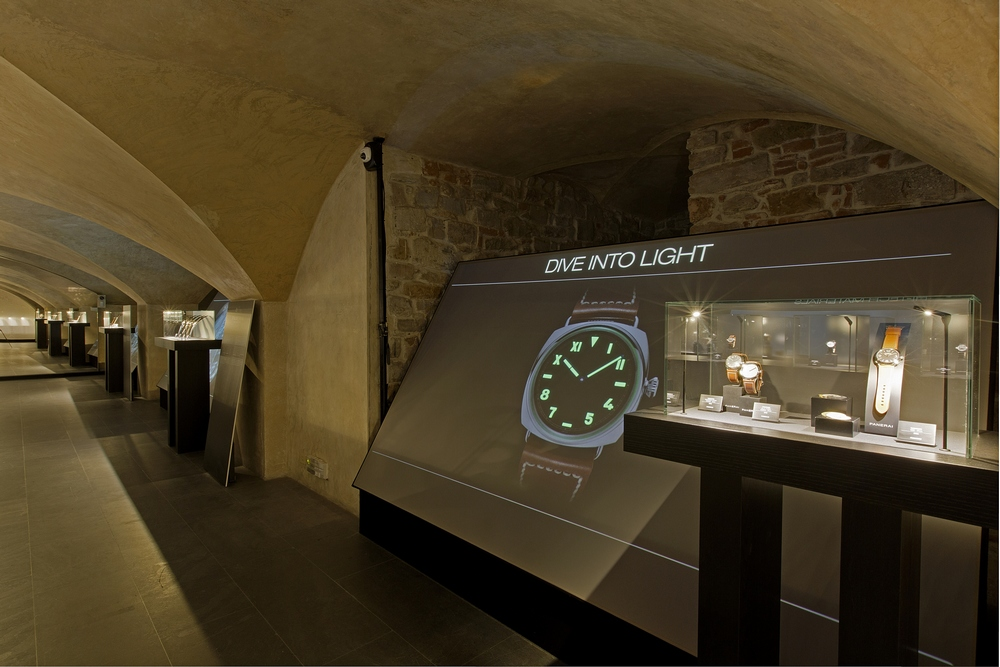 PANERAI DIVE INTO TIME EXHIBITION - FLORENCE, MAY 2016