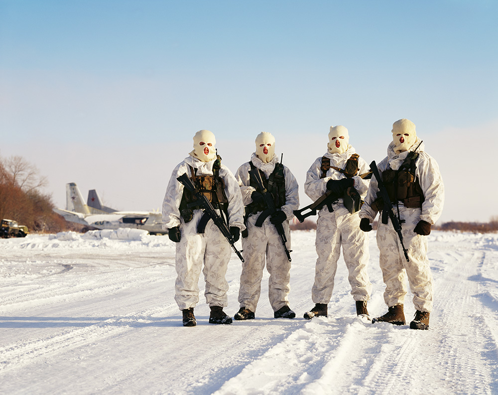 Combatants of the Alpha group, an elite Russian counter-terrorism unit – Maria Gruzdeva