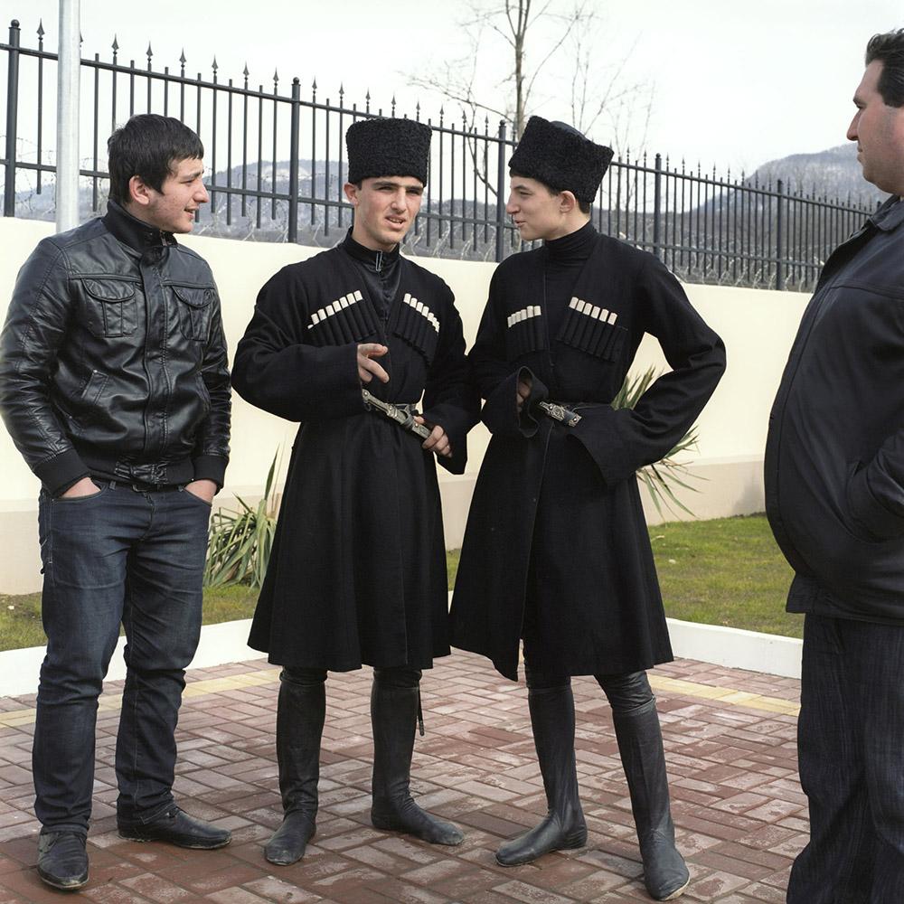 Boys waiting to perform a national dance, Abkhazia - Maria Gruzdeva
