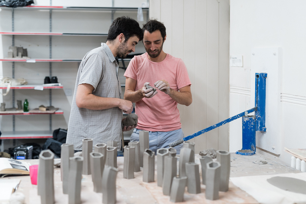 From left to right: Tiago Almeida, Harry Thaler. Photo credit – Damian Griffiths