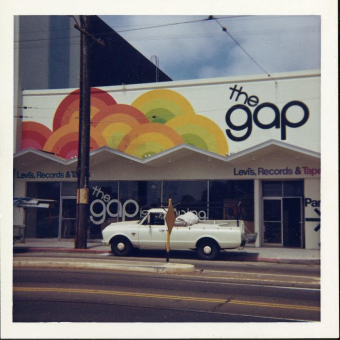 1969 Gap Ocean Avenue Store, USA