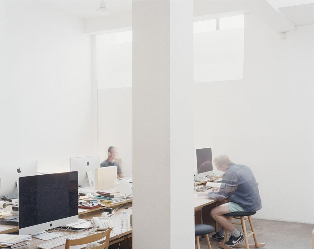 Inside John Pawson's studio in King's Cross, London