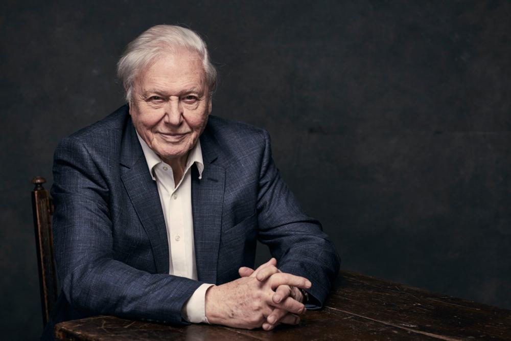Sir David Attenborough. Photography-Sarah Dunn, ©BBC