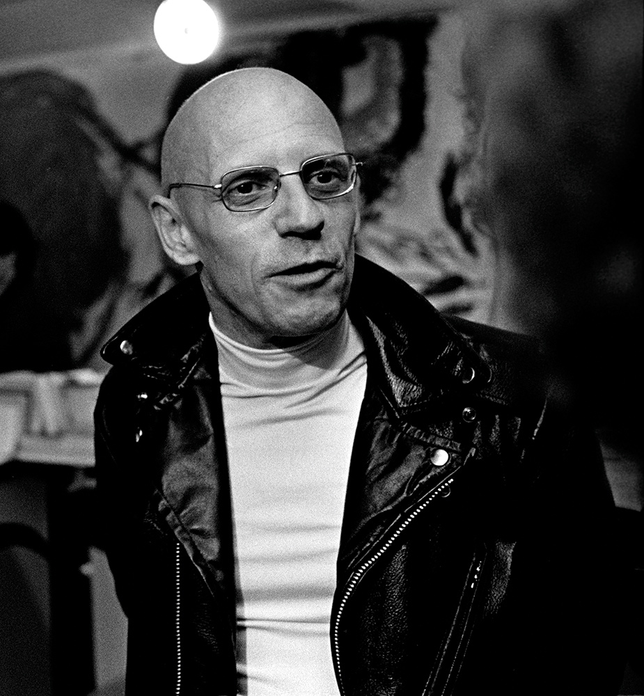 French Philosopher Michel Foucault in Paris