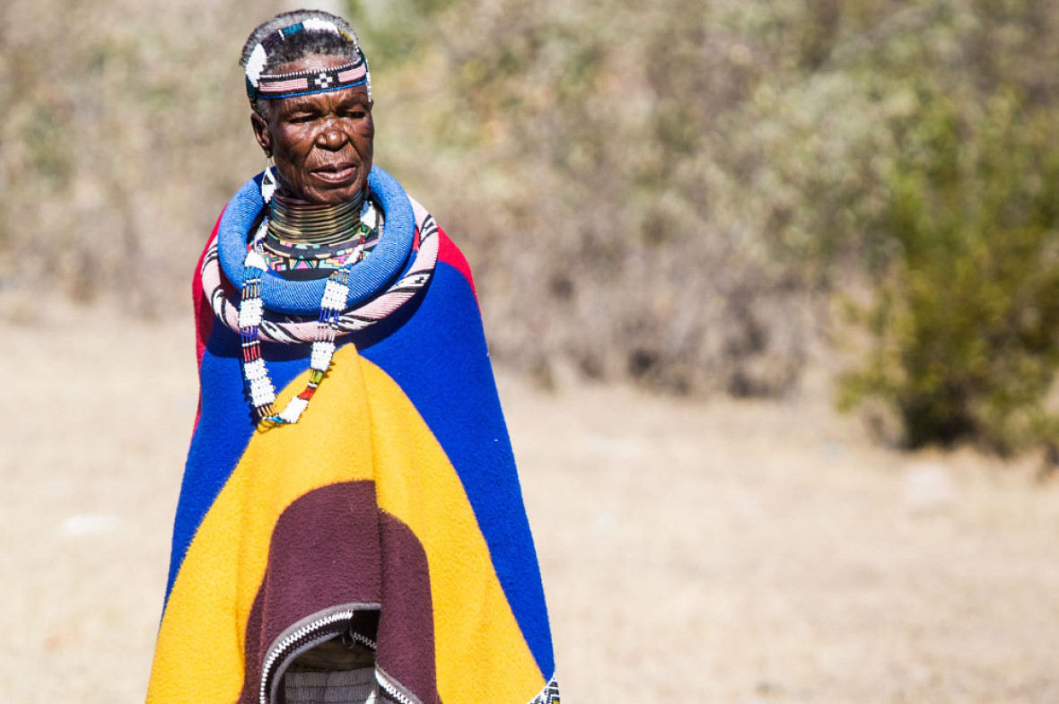 The grandmother of african art esther mahlangu