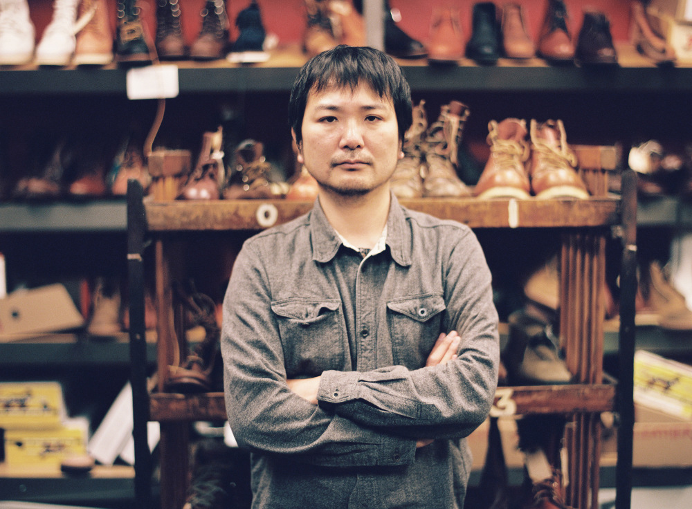 Aki Iwasaki, head designer at Red Wing