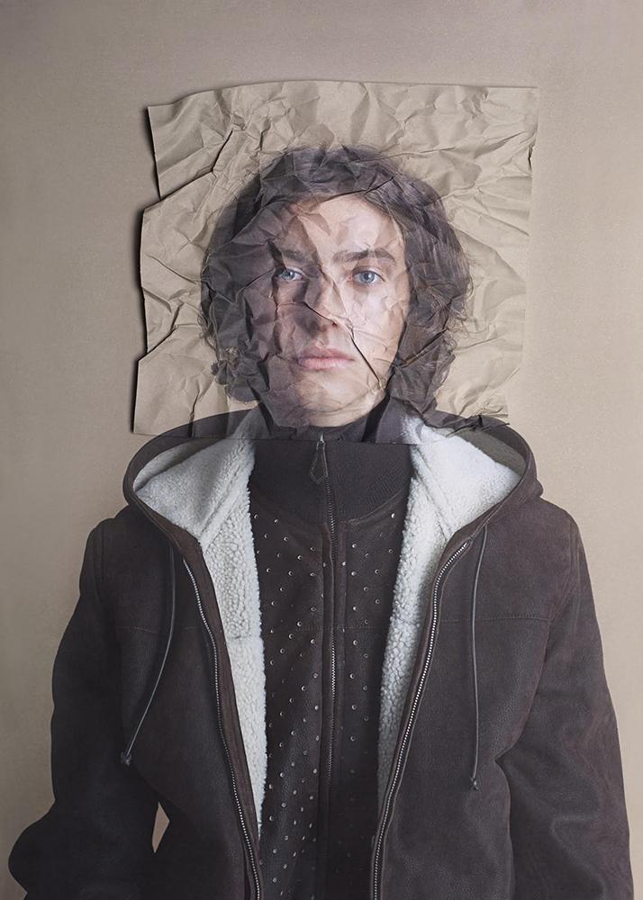 Chester wears hooded blouson in baby lamb HERMÈS Autumn Winter 2007