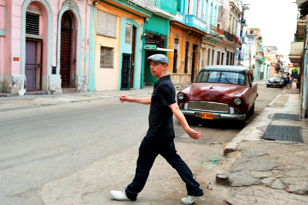 Gilles Peterson in Havana – Photo by Youri Lenquette
