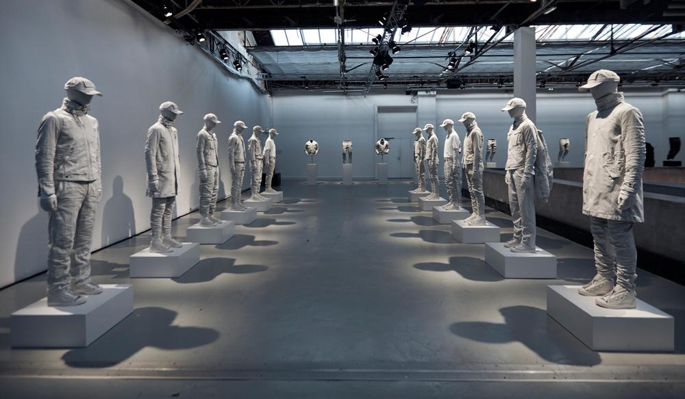 G-Star Raw Research II presentation. Shown at Palais de Tokyo during Paris Fashion Week AW17