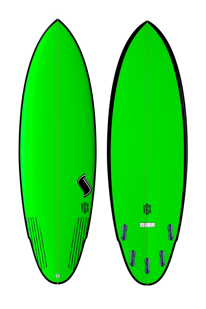 Modelo Bomb  (Green)| Vgs Boards
