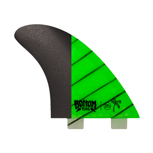 Quilha Bottom Fins BTT II Medium Carbono