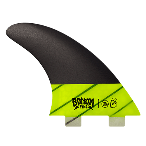 Quilha Bottom Fins BTTA Medium Carbono