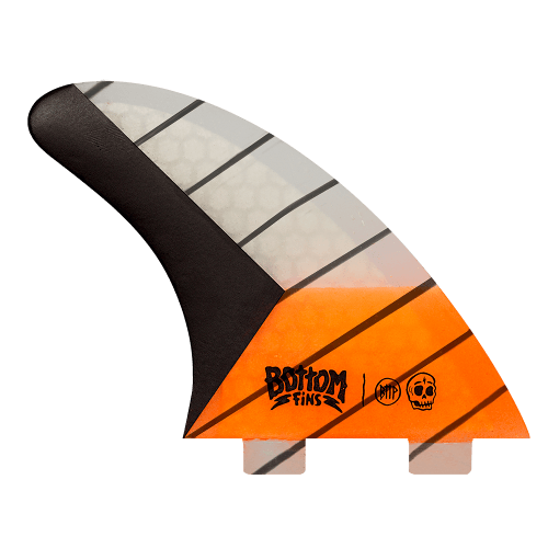 Quilha Bottom Fins BTTP Large Carbono