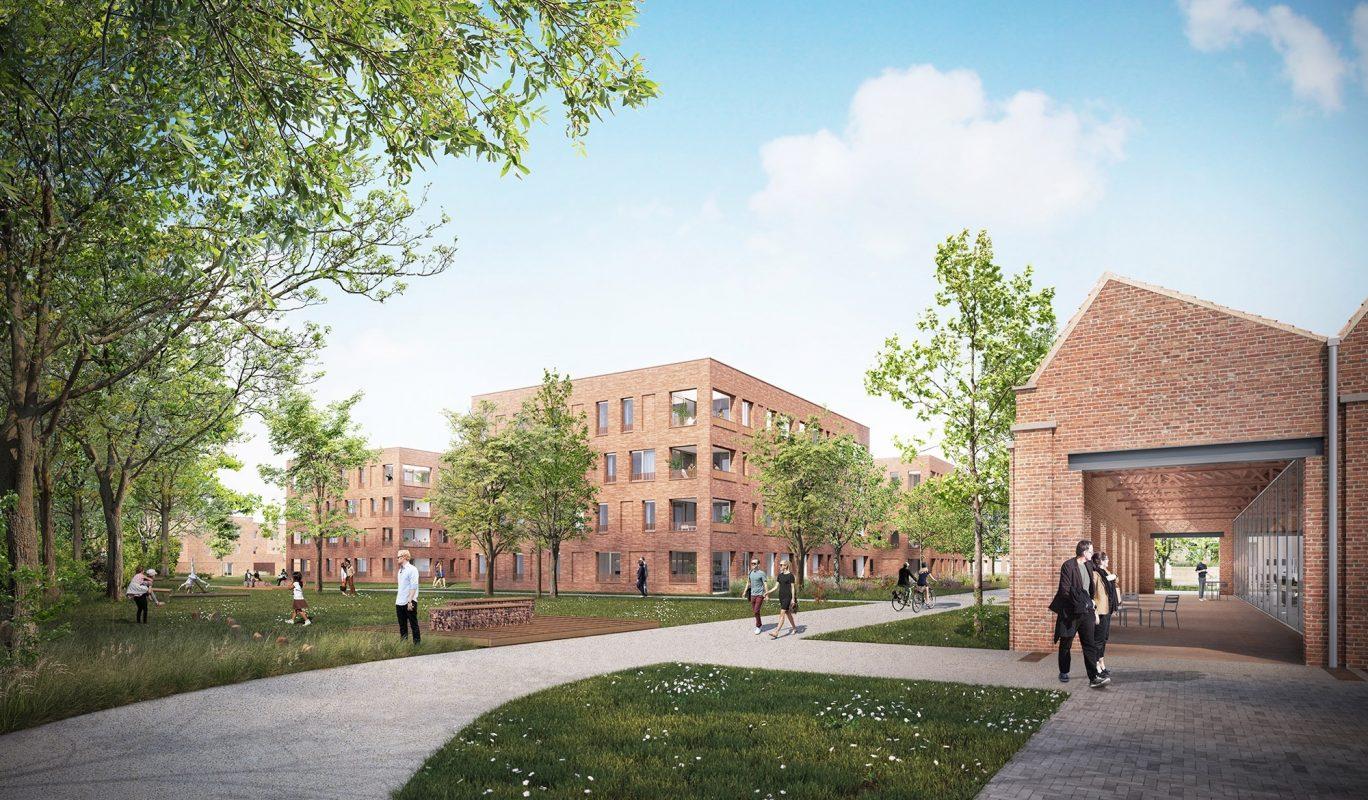 Fase 1 Urban Forest en urban villa Spinnerij