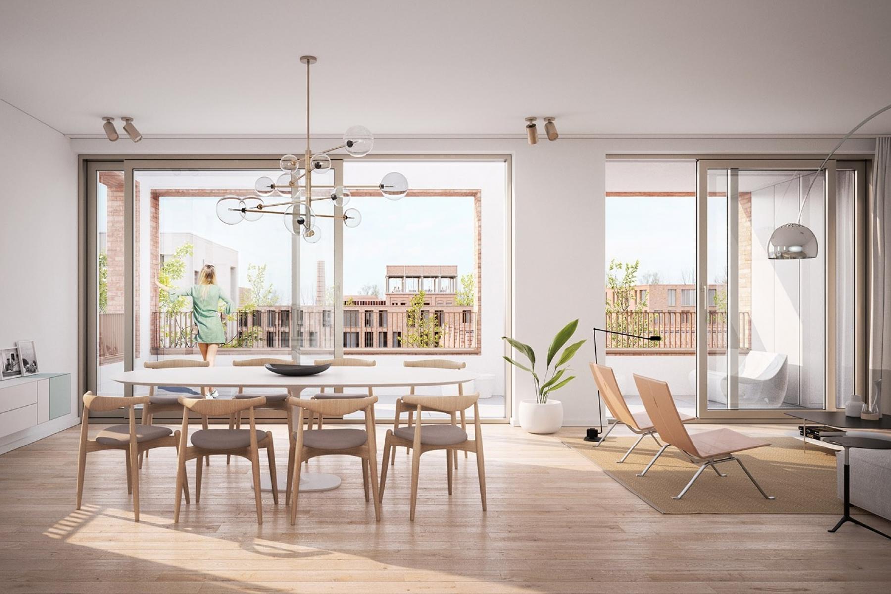 Comfort appartement te koop in Oudenaarde, appartement kopen Oudenaarde