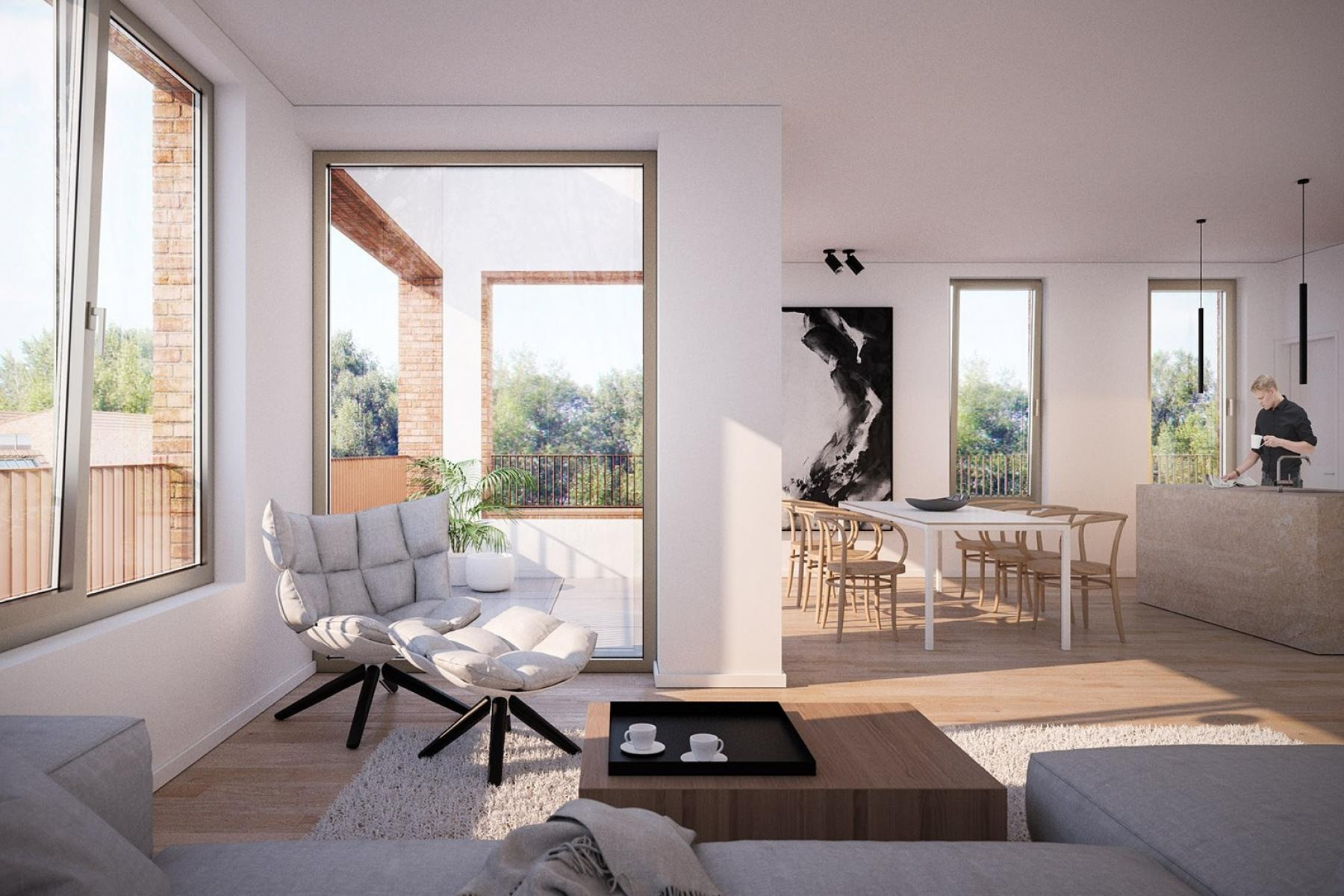 Luxe appartement te koop in Oudenaarde