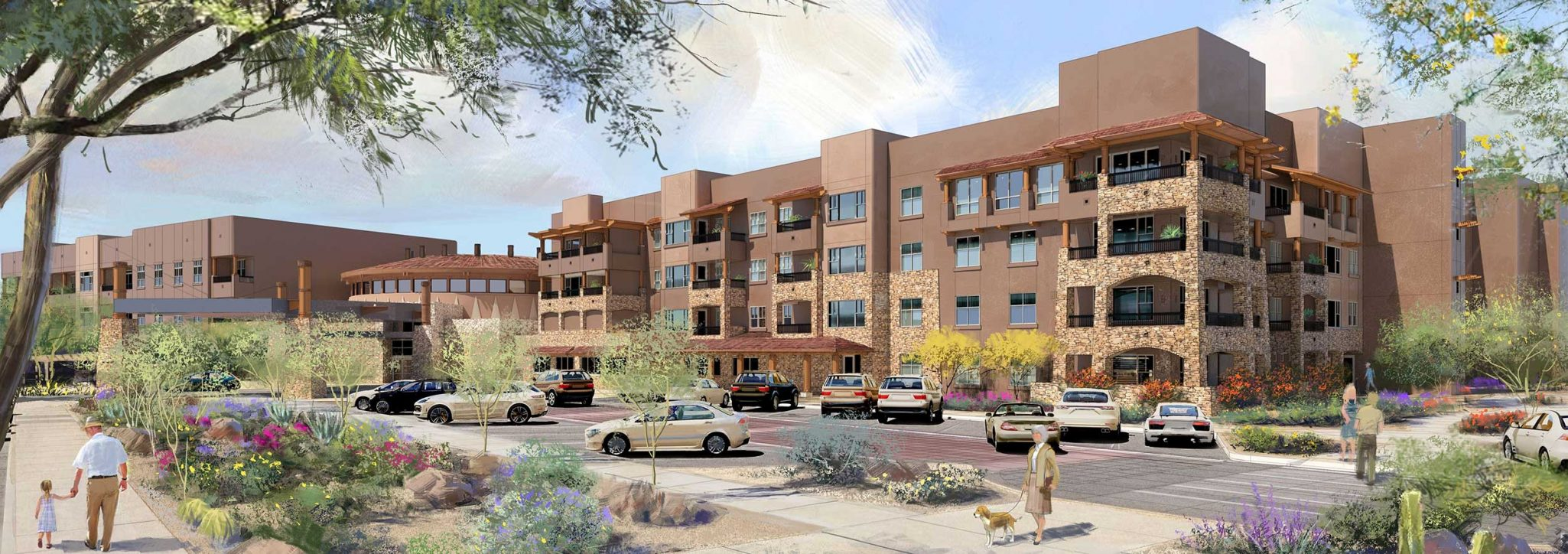 Phase II New Senior Apartments in Phoenix AZ Sagewood