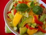 Quick Summer Meals ~ Avocado Mango Salad