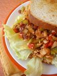 Quick Summer Meals ~ Spiced Kidney Bean Sandwich