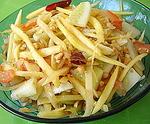 Summer Salads ~ Green Papaya Salad - Som Tum