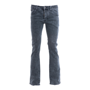 Black Washed Bootcut & Flare Jeans Pant For Men By Bajrang