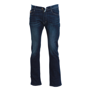 Dark Blue Bootcut & Flare Jeans Pant For Men By Bajrang