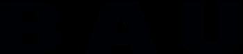 BAU logo svart