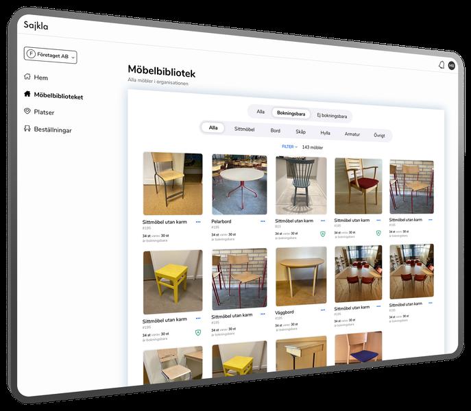 Boka möbler – Möbelbibliotek – Bokningsbara möbler – right