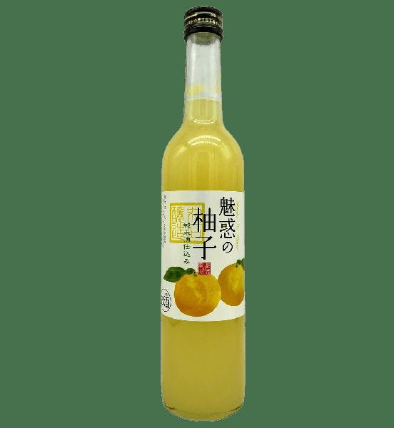 丸石 魅惑の柚子酒 [500ml] - SAKEBOY 清酒男孩