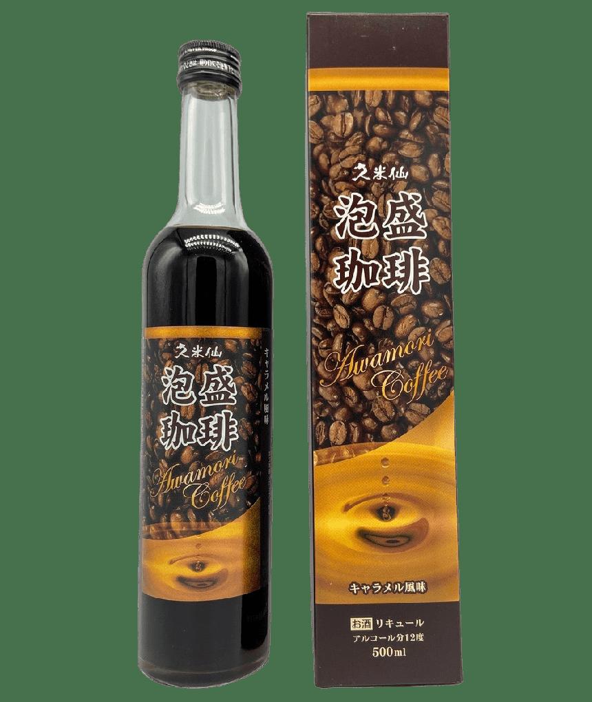 久米仙 珈琲泡盛 [500ml] - SAKEBOY 清酒男孩