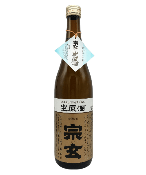 宗玄 新酒 生原酒 [720ml] - SAKEBOY 清酒男孩