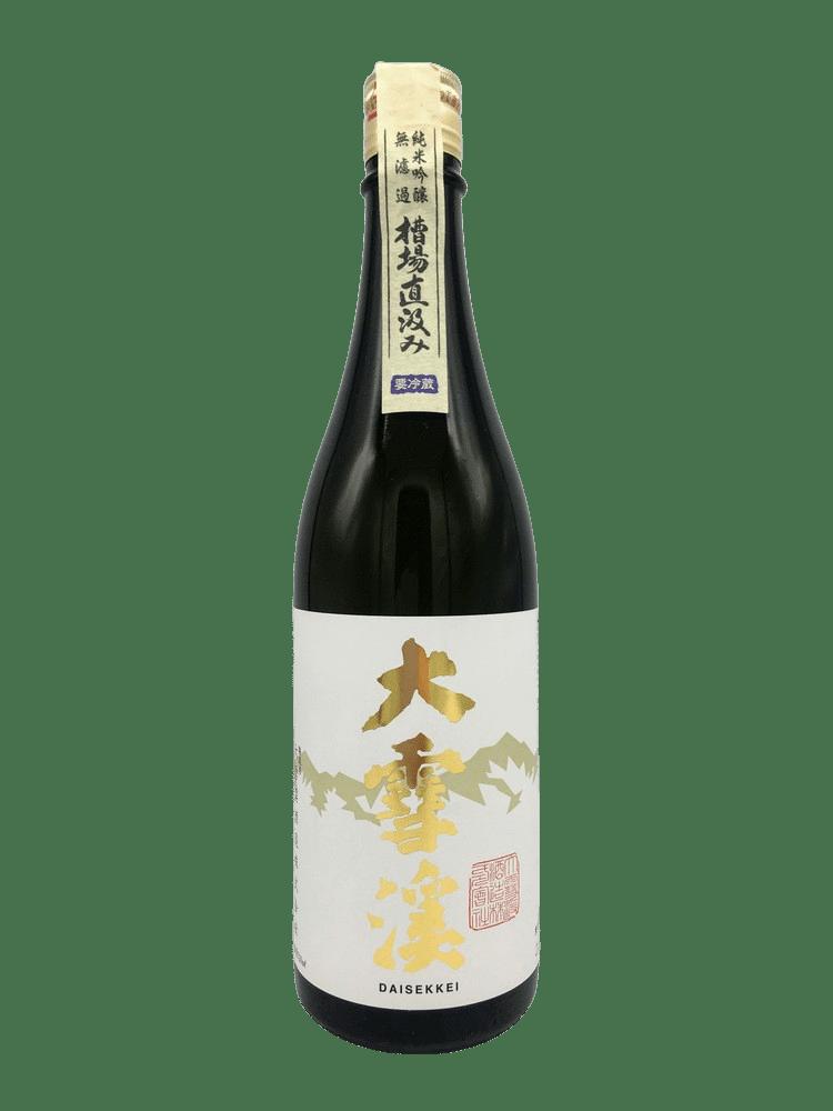 大雪溪 槽場直汲 純米吟醸無濾過生原酒 - SAKEBOY 清酒男孩