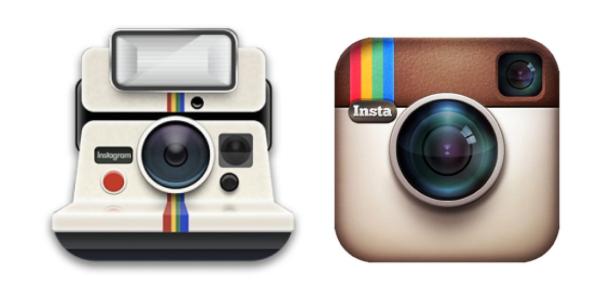 old instagram app logos
