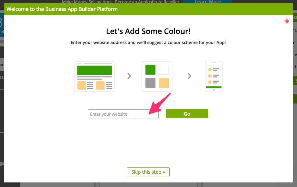 how to make your website an android app