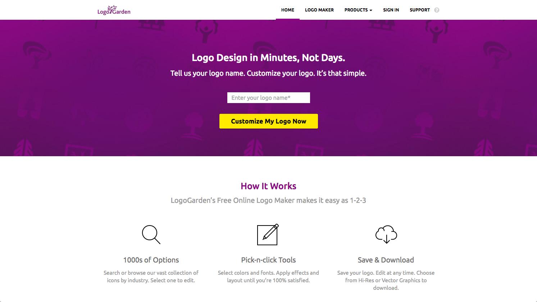 my top online logo creators appinstitute logo garden