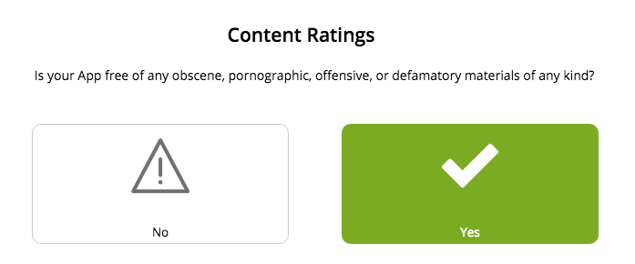 Content Ratings