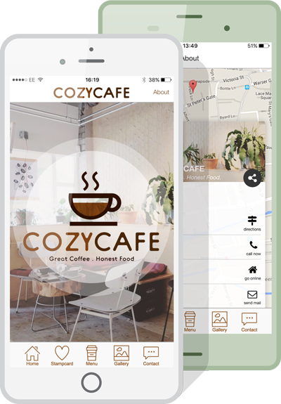 Example of an app built using AppInstitute's app builder