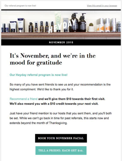 It's November, and We're in the Mood Gratitude