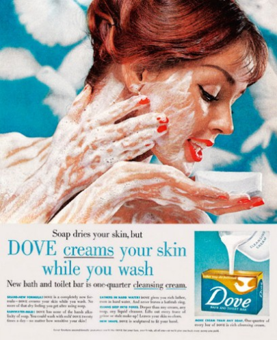 Dove Creams Your Skin While You Wash