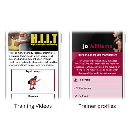 Fitness v2 App