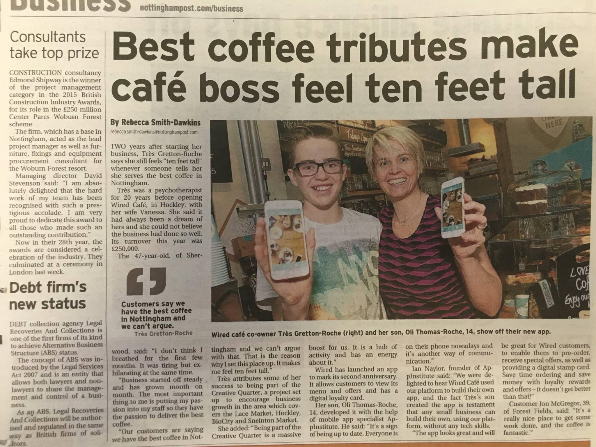 Best Coffee Tributes Make Cafe Boss Feel Ten Feet Tall